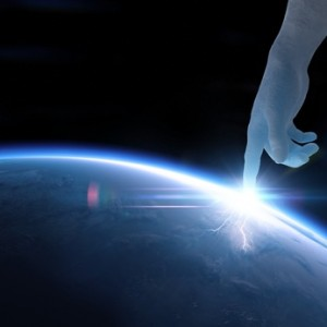 Creation of planet Earth 3D